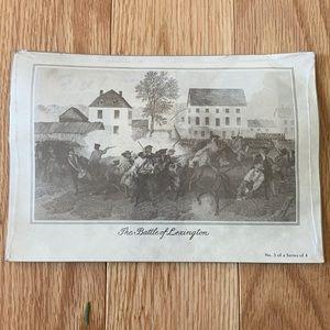 Battle of Lexington, Massachusetts postcards new